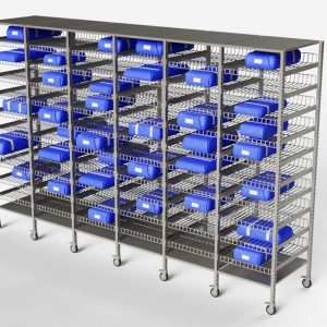 hospital-sterile-core-storage racks-surgical-instruments