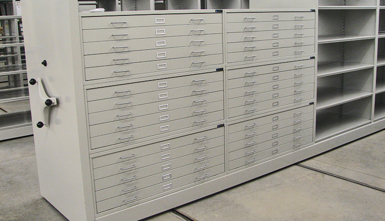High Density Shelving Systems | Advanced Companies