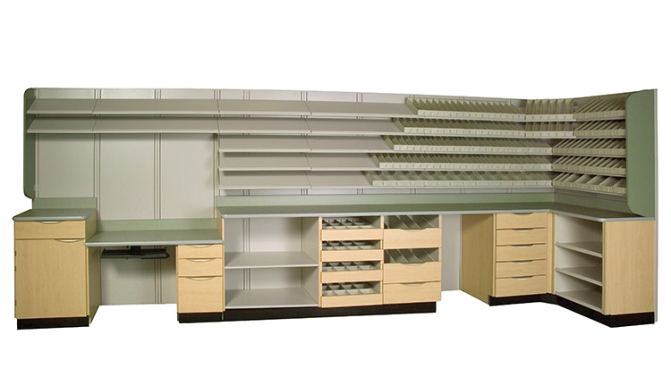 Pharmacy Shelving | Advanced Companies