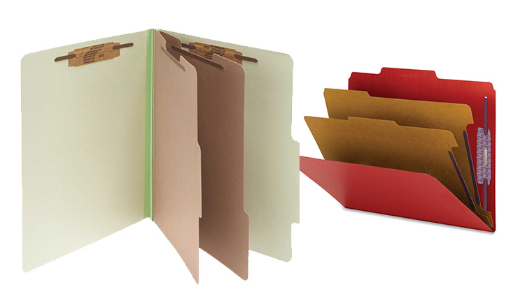 Colored Pressboard Folders | Advanced Companies