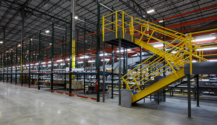 Rack Supported Mezzanines | Advanced Companies