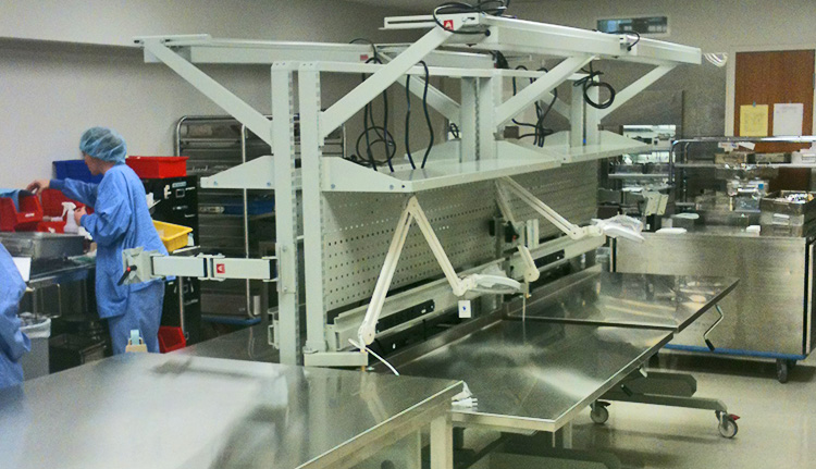 Sterile Pack Stations | Advanced Companies