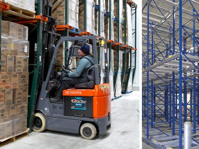 Push Back Racking Systems | Advanced Companies