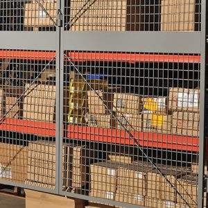 Pallet Rack Enclosures | Advanced Companies