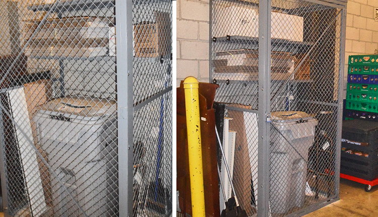 Wire Mesh Lockers | Advanced Companies
