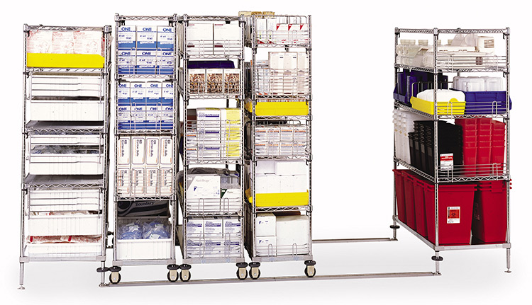 Wire Shelving Units | Advanced Companies