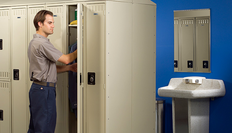 Employee Storage Lockers | Advanced Companies